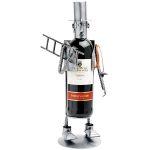 Zu Weihnachten: Weinflaschenhalter Kaminfeger oder Schornsteinfeger ein prima Geschenk