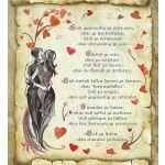 Zu Weihnachten: Urkunde Liebe mit Ihrem Wunschtext ein prima Geschenk