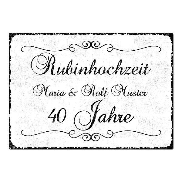 Rubinhochzeit Rubin Hochzeit 40 Hochzeitstag Geschenk On Popscreen