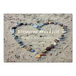 Zu Weihnachten: Geschenk zur Steinernen Hochzeit – Schild A4 mit individuellem Wunschtext ein prima Geschenk
