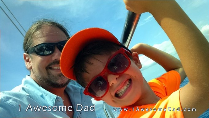 Eric D. Greene and son