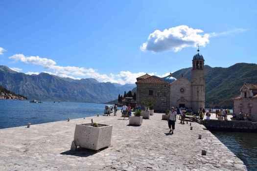 Notre Dame du Récif sur la Baie de Kotor