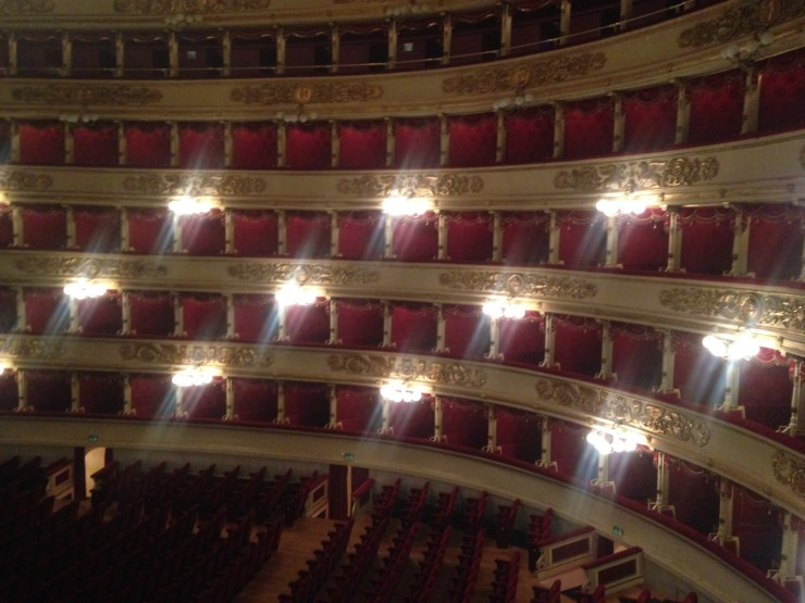 La Scala, l'opéra de Milan
