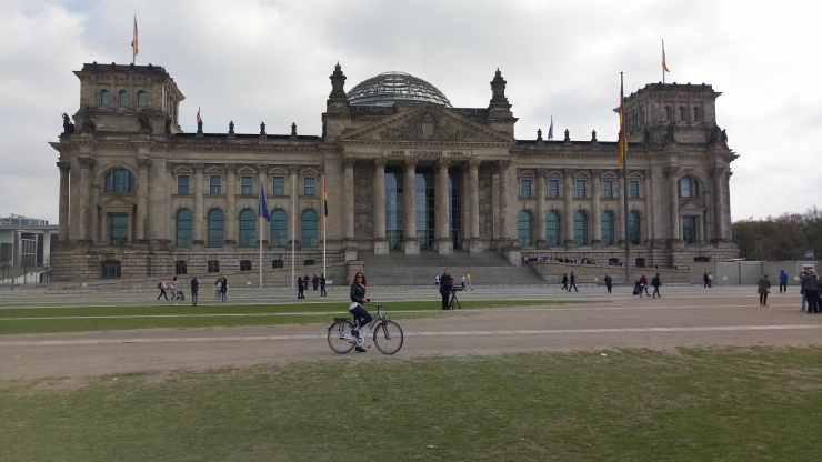 Le palais du Reishtag