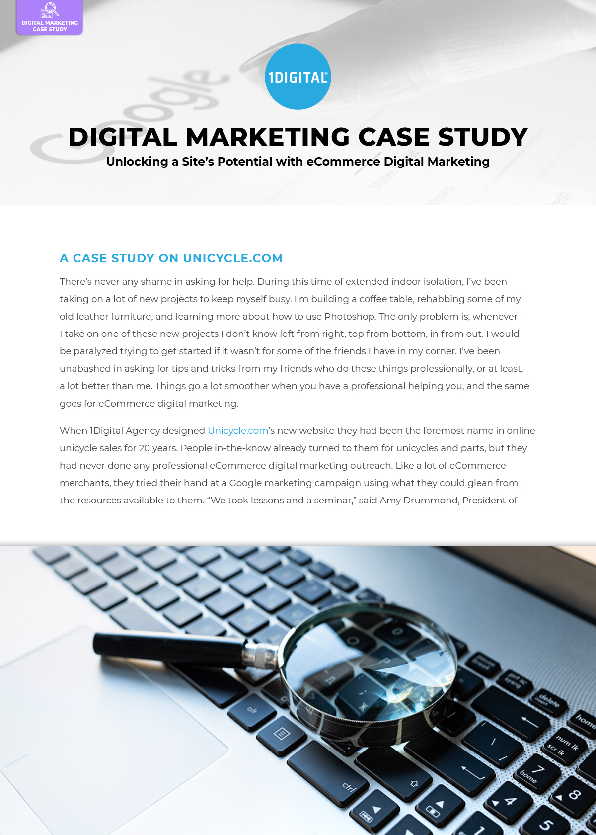 Unlocking a Site's Potential with eCommerce Digital Marketing