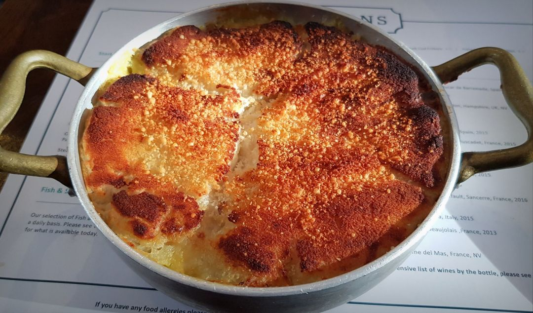 For a London fish restaurant, look no further than Parsons and it's creamy fish pie