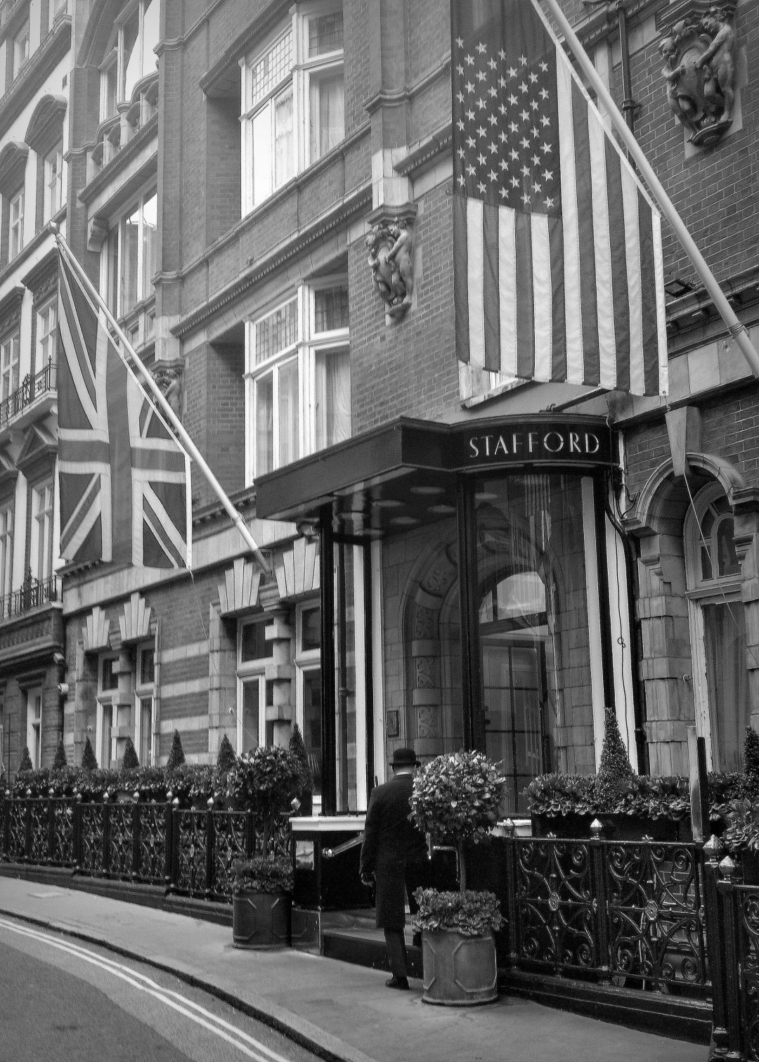 The Game Bird London is situated in The Stafford Hotel Mayfair