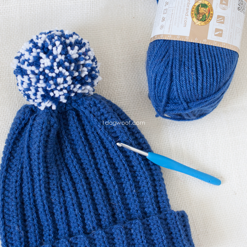 Mens Stocking Hat Knitting Pattern
