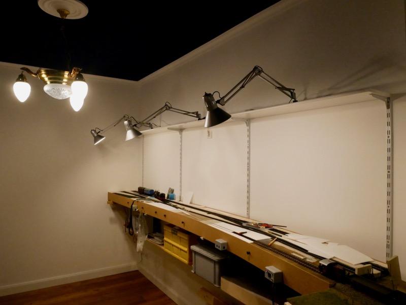 Aufbau der Beleuchtung