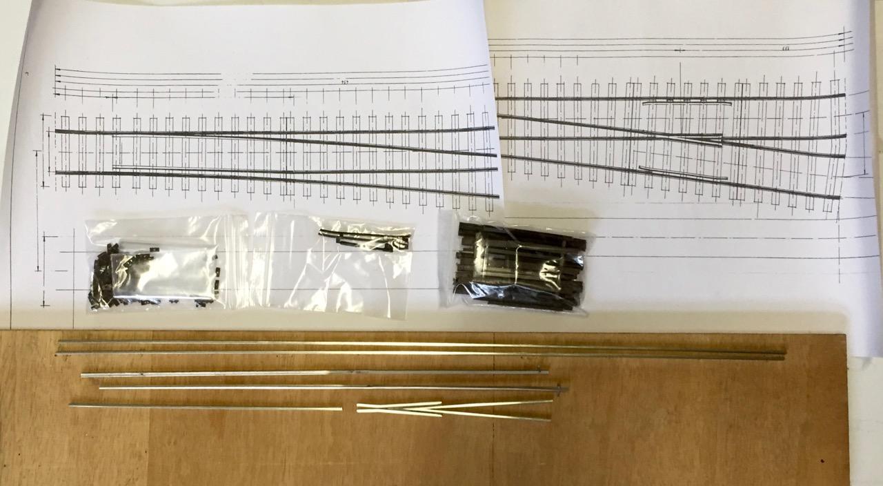 Bauteile Ausgepackt