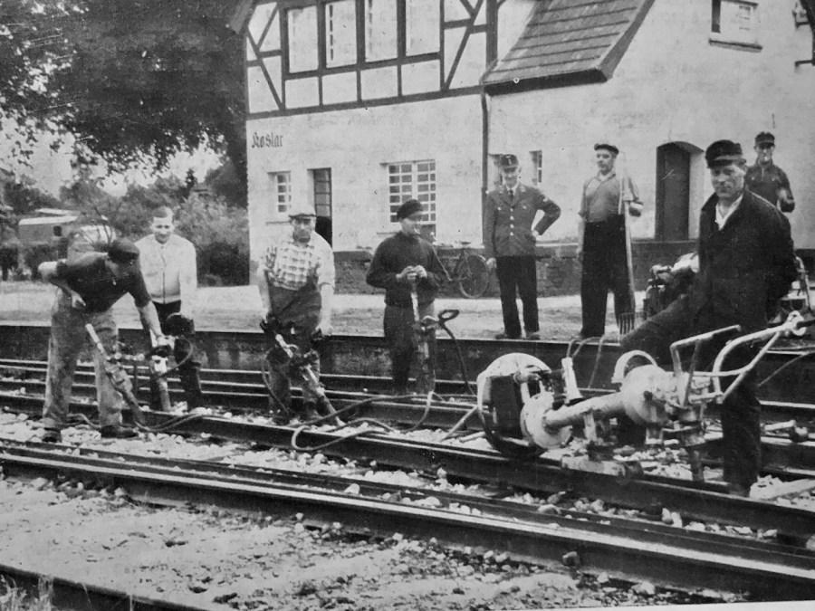 Gleisbaurotte 1961 in der Epoche 3