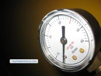 Problematick Gauge - Litres / Minute should be low PSI
