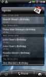 Google Calendar in the HTC Calendar Widget