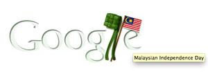 Merdeka Day Google Doodle