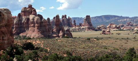 The Needles, Canyonlands: Chelser Park