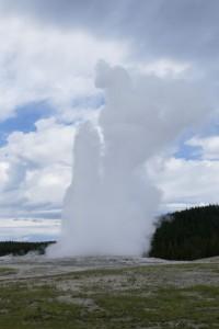 Old Faithful Yellowstone NP