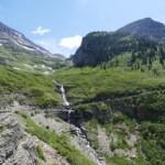 Weeping Wall Glacier NP