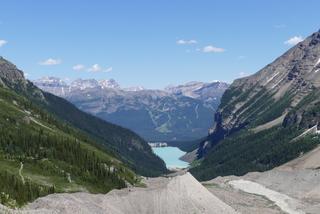 La Plaine des Six-Glaciers vue sur le Lake Louise