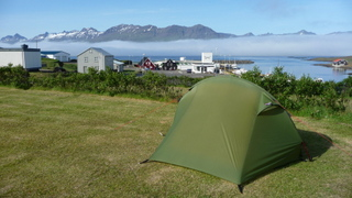 camping de Djupivogur