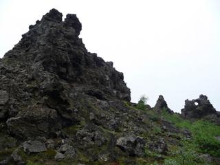 Randonnée au lac Myvatn site de Dimmuborgir