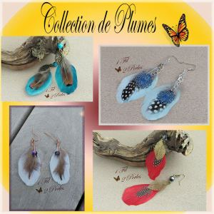 Collection de plumes