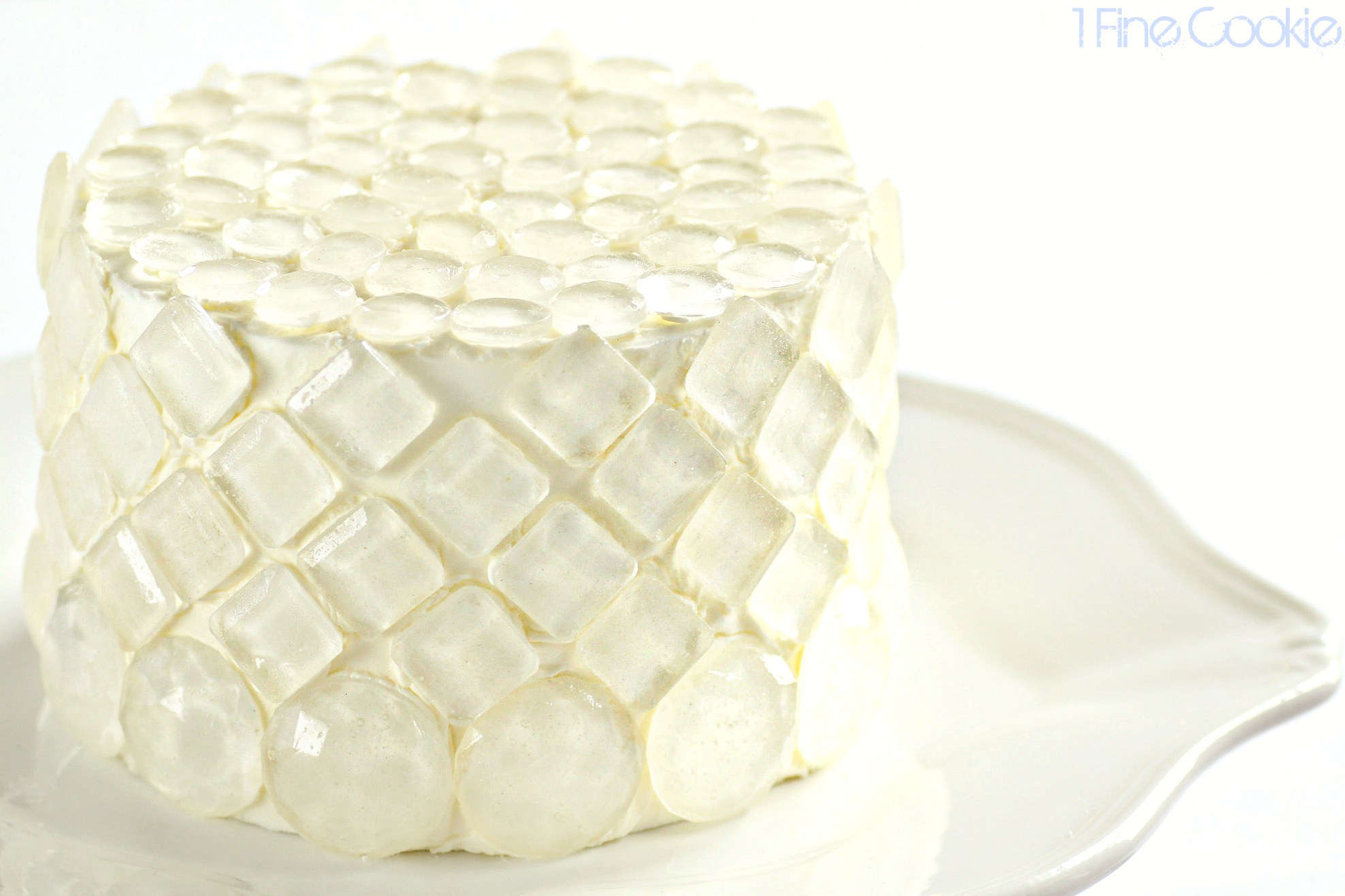 Sugar Isomalt Diamond Covered Cake And Tips For Using
