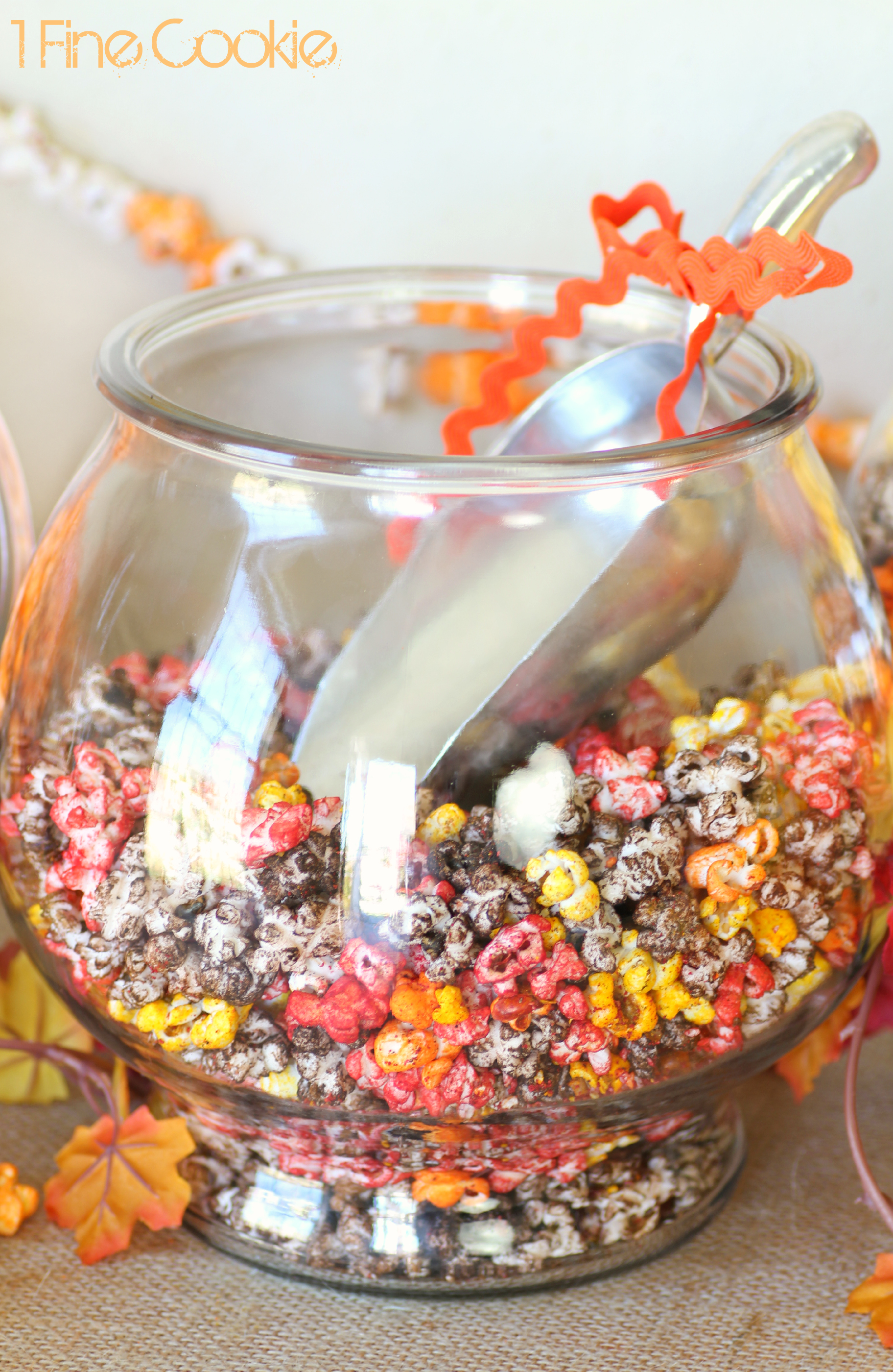 Fall And Thanksgiving Party Table D 195 169 Cor With Colorful Popcorn 1 Fine Cookie