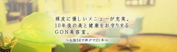 ヘナ 神戸 お肌 頭皮に優しいカラーが出来る須磨にあるヘナ専門のGON美容室