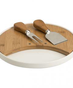 Podnos na syr kruh/bamboo