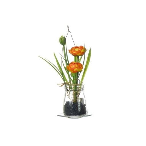 umely-kvet-v-skle-oranzovy
