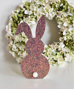 Svietiaci zajac ROSEGOLD