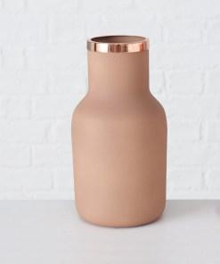 dekoracna-vaza-sakie-23cm-medeno-hneda