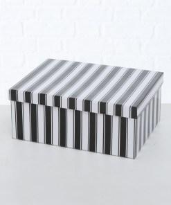 darcekova-krabicka-black-stripes-m