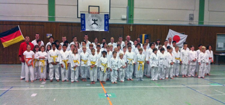 9. Kinderlehrgang mit Kata-Turnier 2012
