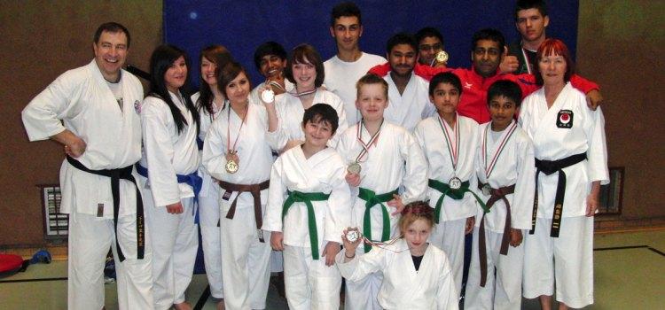 Karate Bezirksmeisterschaften Arnsberg 2011