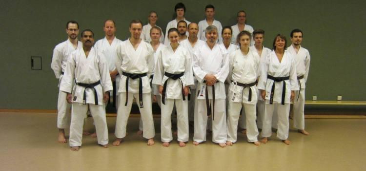 Karatelehrerausbildung bestanden