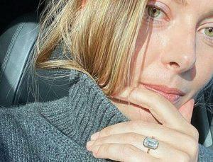 Sharapova'ya servet değerinde nişan yüzüğü