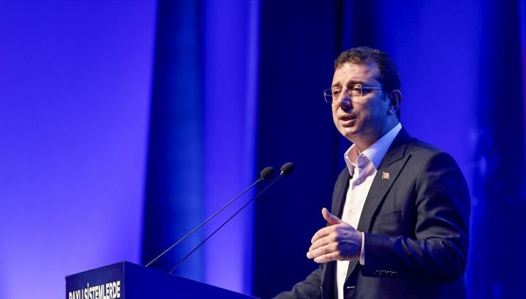 İmamoğlu'ndan Kanal İstanbul'u inadına yapacağız diyen Erdoğan'a yanıt
