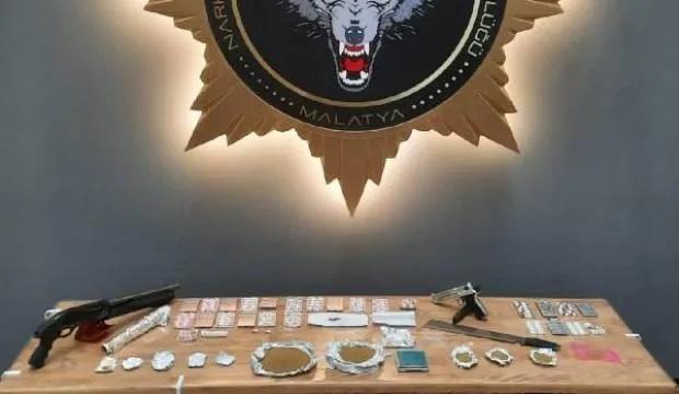 3 ildeki uyuşturucu operasyonuna 17 tutuklama