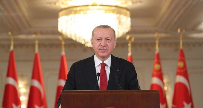 Cumhurbaşkanı Erdoğan, Libya Başbakanı Dibeybe ve Başkanlık Konseyi Başkanı Menfi ile görüştü