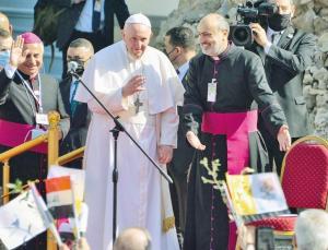 Papa'nın tarihi Irak ziyareti! Musul'dan barış ve kardeşlik çağrısı