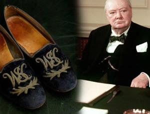 Winston Churchill'ın ayakkabısı 40 bin sterline satıldı!