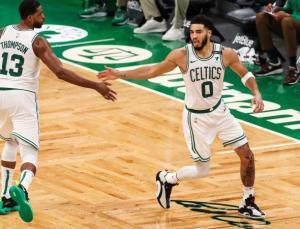 Jayson Tatum tarihe geçti Celtics kazandı