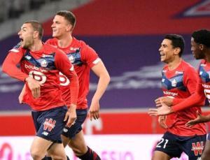 Burak Yılmaz ve Zeki Çelik atıyor Lille şampiyonluğa yürüyor