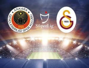 CANLI İZLE   Gençlerbirliği Galatasaray maçı canlı yayın (Süper Lig 39. hafta)