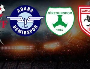 CANLI | Süper Lig'e yükselecek takımlar belli oluyor! Adana Demirspor, Samsunspor, Giresunspor