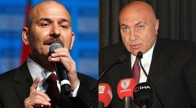 İçişleri Bakanı Süleyman Soylu'dan Samsunspor Kulübü Başkanı Yüksel Yıldırım hakkında suç duyurusu