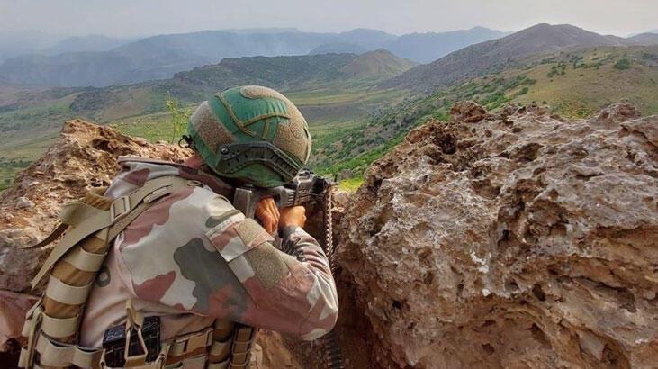 MSB duyurdu! Irak'ın kuzeyinde 2 PKK'lı etkisiz hale getirildi