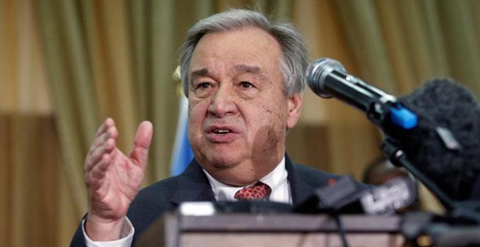 Antonio Guterres, BM Genel Sekreterliğine ikinci kez atandı