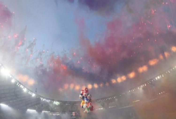 roma olimpiyat stadinda burak yilmaz italyan isme gitti gorkemli acilis 8 88vyNHDV